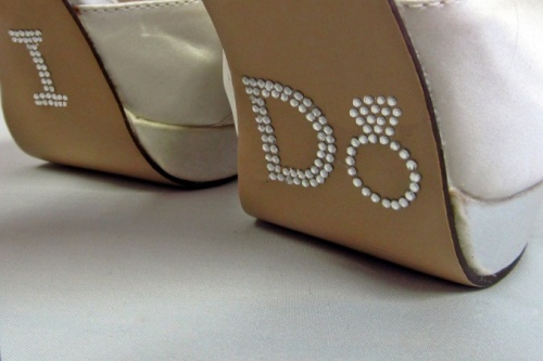 Wedding Shoe Stickers #LeMariage #Magazine #Indonesia