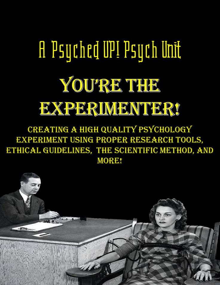 why psychologists do experiments Experimental psychologist tasks formulate hypotheses and experimental  designs document experiments and test results conduct experiments to  analyze.