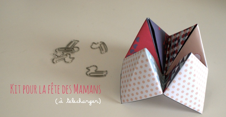 DIY kit à imprimer pour célébrer la fête des mères