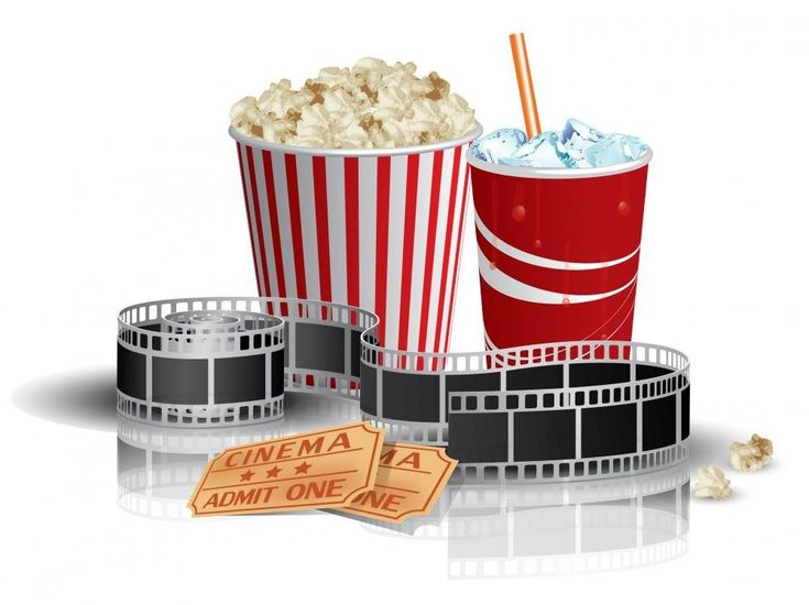 Wallmonkeys Popcorn Drink and Filmstrip Peel and Stick Wall Decals WM25426 (30 in W x 22 in H): Amazon.ca: Home & Kitchen