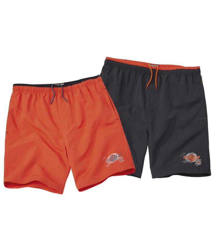 Lot de 2 Shorts de Bain Tuamotu #travel #voyage #atlasformen #formen #discount #shopping #ootd #outfit #formen #hommes #man #homme #men