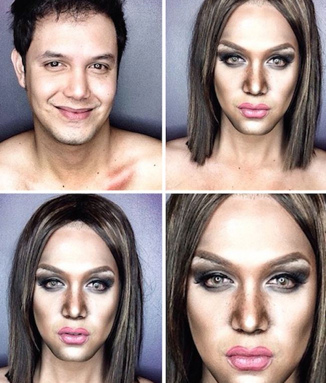 Filipino TV Host's Makeup Transformation