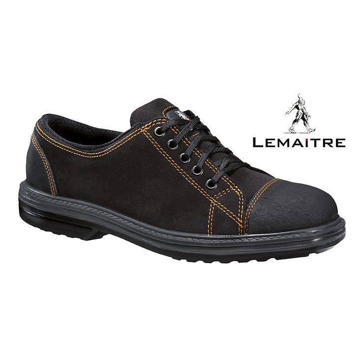 Chaussures de sécurité basses noires Vitamen S3 SRC Lemaitre – Mabéo Direct : vente en ligne de Chaussures de sécurité homme pour les professionnels
