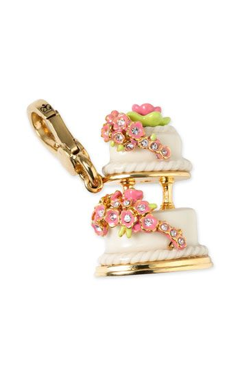Juicy Couture two tiered cake charm