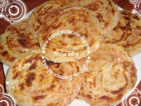Cocina con Nora (cocina marroquí): Meloui relleno con mortadella