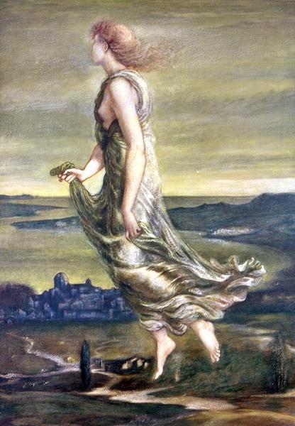 The Evening Star  Sir Edward Coley Burne-Jones, 1st Baronet (1833 – 1898)