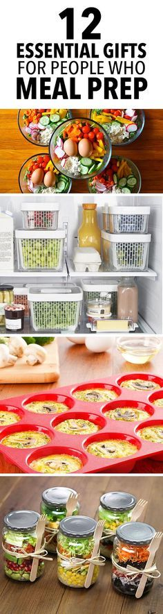 12 Essential Gifts for People Who Meal Prep -- Give the meal prepper in your life a gift that will simplify their life and save them time every week. Here are 12 ideas that they will love! // gift guide // nutrition // eat clean // meal planning // healthy choices // beachbody // beachbody blog