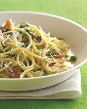 Low Fat Spaghetti Carbonara | Healthy Eating | Pinterest