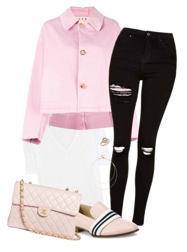 """""""#24"""" by heelsandgo on Polyvore featuring Vince, Marni, Topshop, rag & bone, Chanel, Sole Society and Bloomingdale's"""