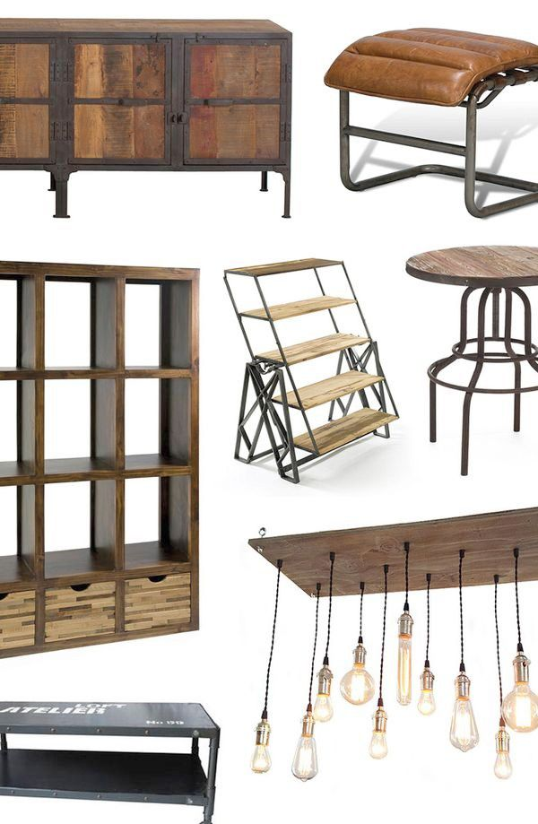 Industrial Modern Furniture D Cor Furniture And Diy Pinterest Industrial