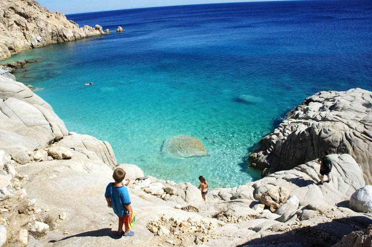 Ikaria island, greece - Seychelles beach