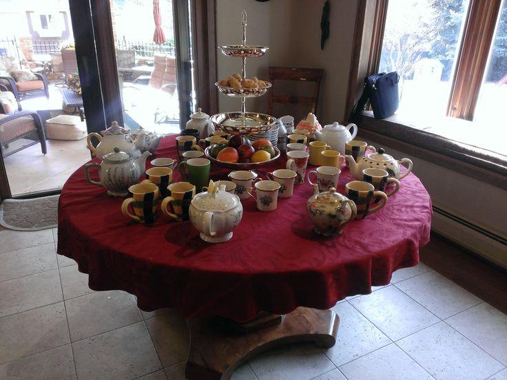 Author U Autumn Tea (d) - Delectable food!