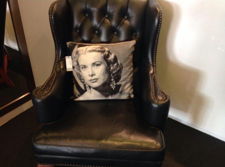 Grace Kelly cushion sale $45