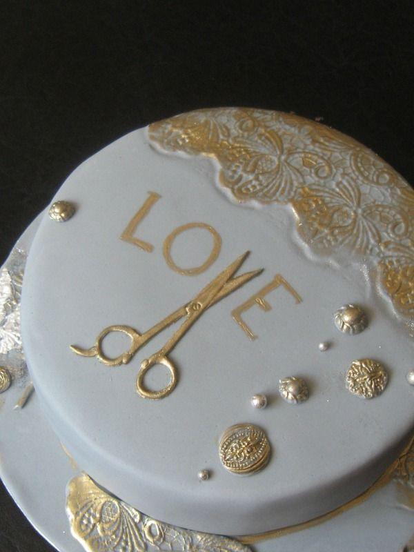 Cake for hair stylist