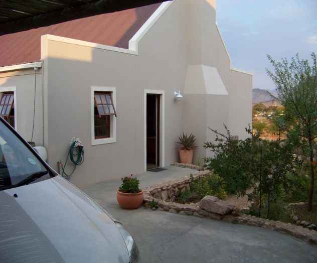 Level easy access from parking to front door of cottage