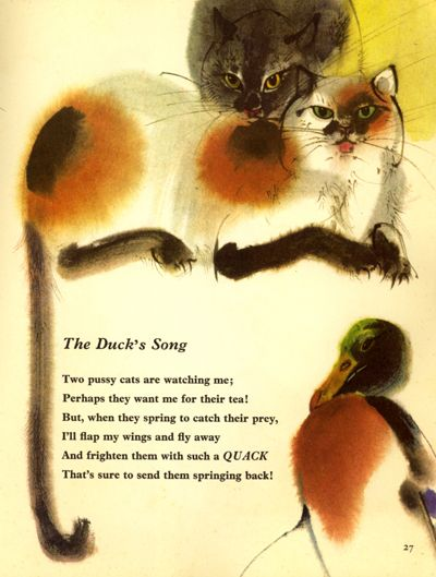 Sing a song 1  Info on Mirko Hanak, illustrator.  Love his work.