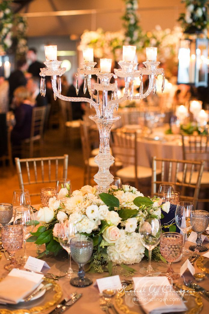 Crystal Candelabra at Palais Royale Centre-Piece by Rachel A. Clingen. @palaisr photo by @andrewmarkca