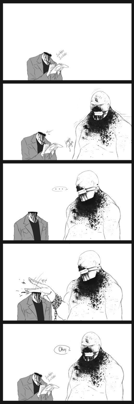 Headless Miles by 0theghost0 on deviantART--- oh my gosh outlast YES