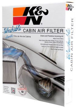the Reusable K&N VF3004 Cabin Air Filter improves the air quality inside the 1999-2004 Honda Odyssey, 2003-2008 Honda Pilot & 2001-2006 Acura MDX