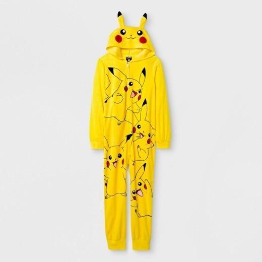 5b4383cbd Boys Pokemon Microfleece Onesie Sleepwear Pajama