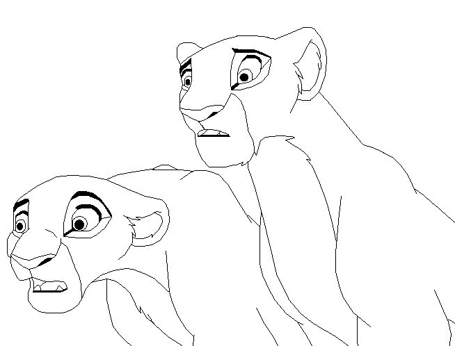 33 best images about lineart on pinterest lion couple for Lioness coloring pages