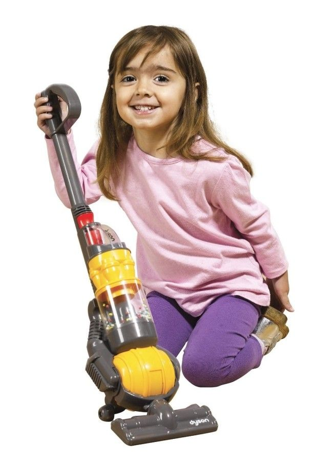 A toy Dyson vacuum... so your little one can have a nicer vacuum than you.