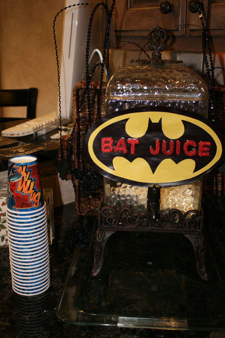 Batman Birthday Party/ Superhero Party
