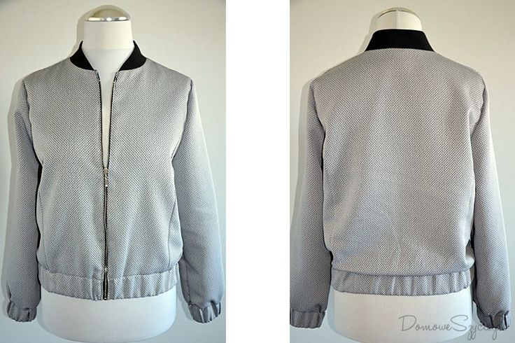 Bomberka, damska bomberka, szycie, hanmade, bomber jacket, sewing