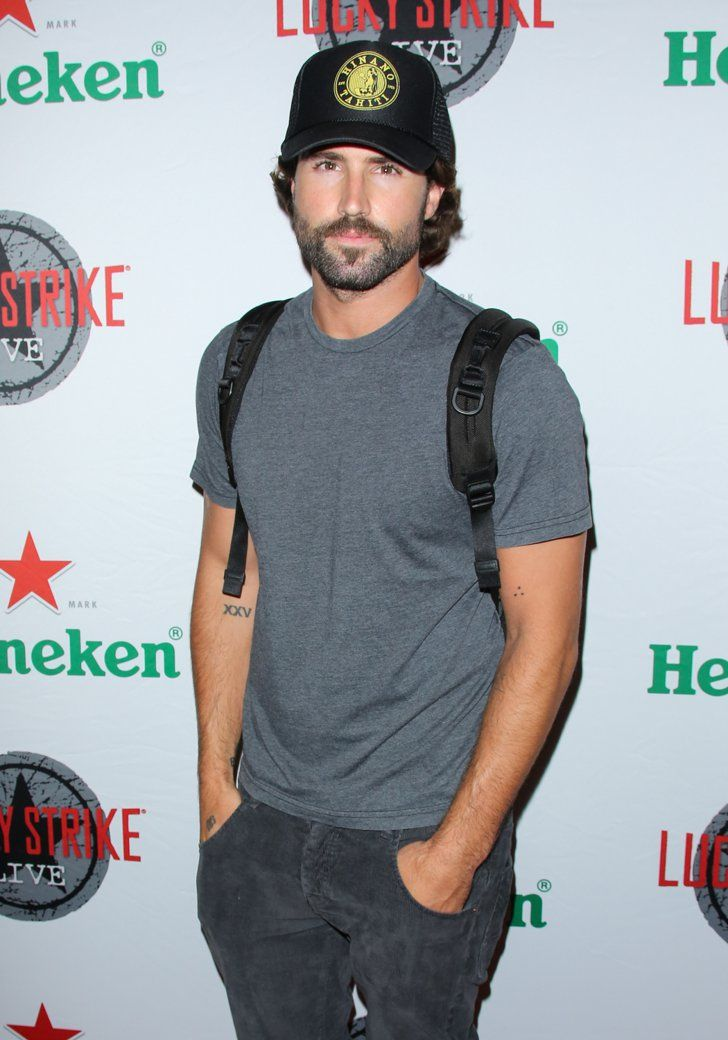 Pin for Later: 24 Times You Just Couldn't Help But Crush on Brody Jenner When He Made a Backpack Look Surprisingly Hot