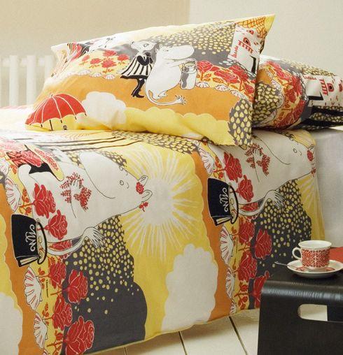 Moomin bed linen