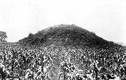 Mound Builders: A Travel Guide to the Ancient Ruins in the Ohio Valley: The Adena Mound in Chillicothe, Ohio-Destroyed