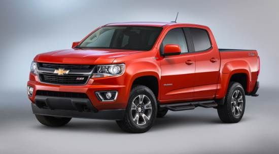 2018 Chevy Colorado Changes and Release Date
