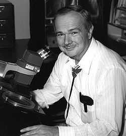 Eugene M. Shoemaker - American geologist. One of the founfers of planetary science. Best known for co-discovering Comet Shoemaker-Levy 9 that crashed into Jupiter in 1994.