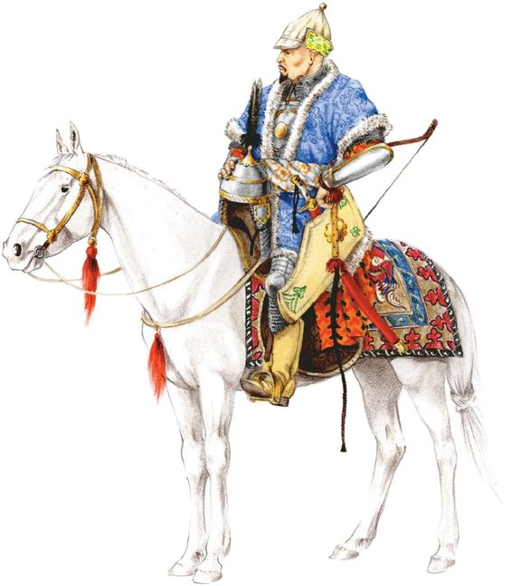 Siberian Khanate noble warrior, 16th century