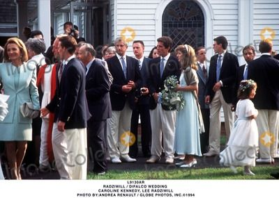 Radziwill / Difalco Wedding Caroline Kennedy, Lee Radziwill Photo By:andrea Renault / Globe Photos, Inc.