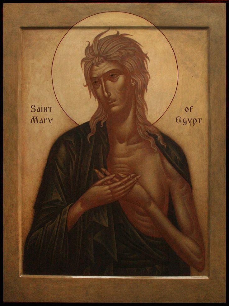 St. MAry of Egypt, by Irina Zaron