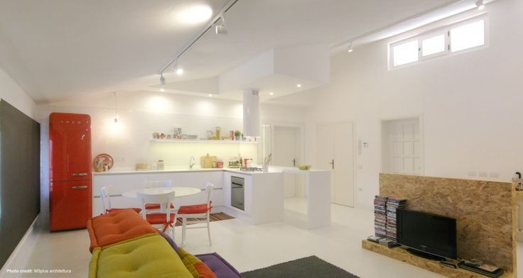 A Colorful Apartment in San Miniato, Italy