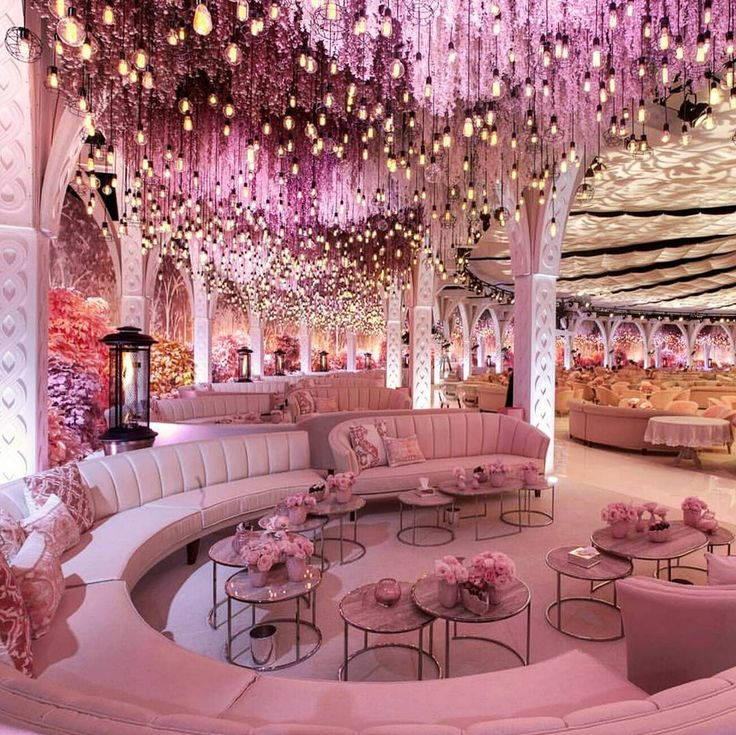 """Pink is always in  ▪Wedding planner : Designlab @designlabexperience…"""