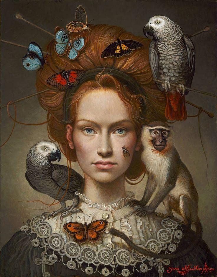 Yana Movchan, 1971 | Magic Realism painter