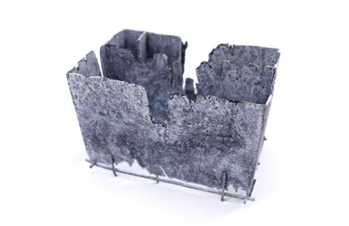 Martin Papcun Brooch: Building, 2013 Sterling silver, zinc coated 60x80x120mm (Czech Republic/Germany, established) © By the author