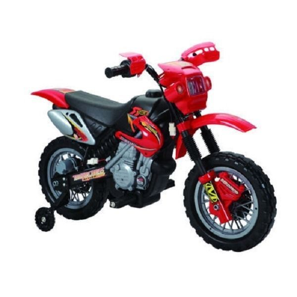 Dirt Bike Games Sale Red Ride-On Gear Helmets Graphics Grips Bag Boots For Kids.