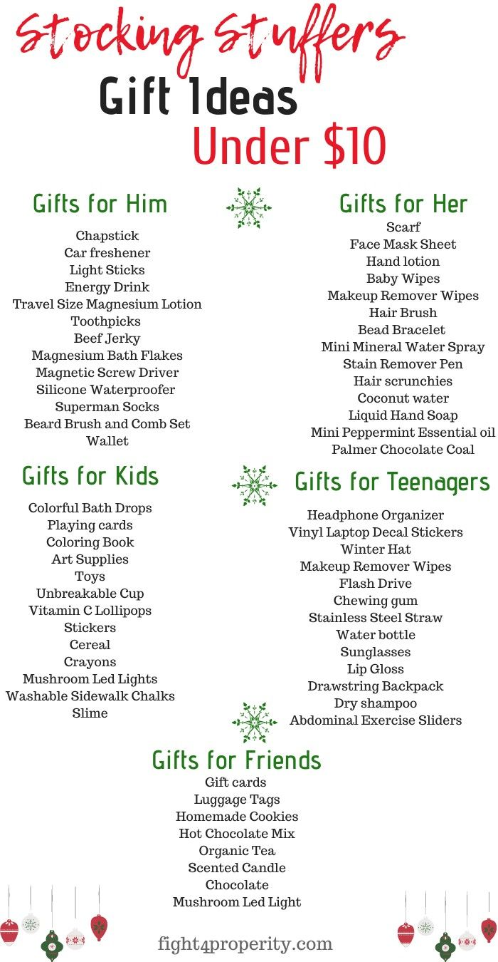 65 Cheap Stocking Stuffers Ideas Under 10 For Everyone Crafty Christmas Gifts Christmas Stocking Gifts Cheap Stocking Stuffers