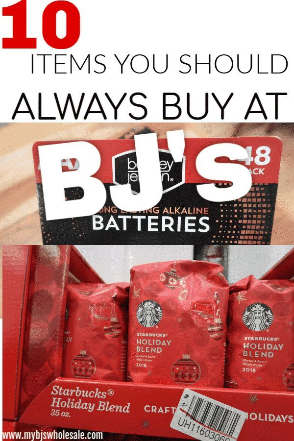 10 Must Buy Items at BJ's Wholesale Club   Tips to Save