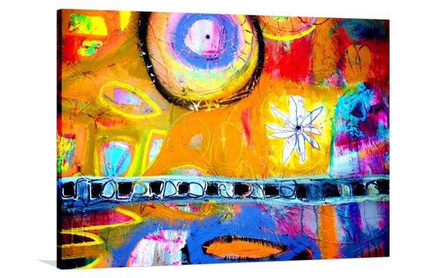 OPEN ATTRACTION [2387462] - $399.00 | United Artworks | Original art for interior design, buy original paintings online