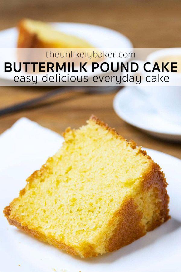 No Fail Buttermilk Pound Cake Recipe In 2020 Buttermilk Pound Cake Dessert Recipes Easy Pound Cake Recipes