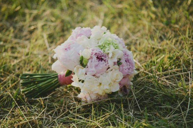 bouquet romantico peonie