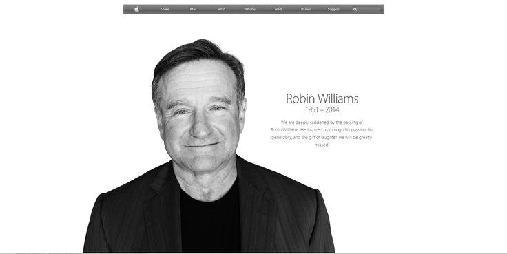 Robin Williams_Apple Official Website
