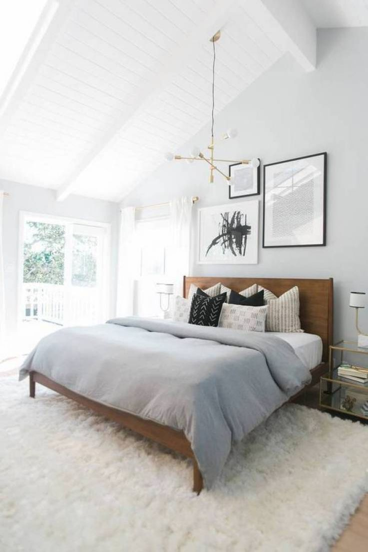 12 Drool Worthy White & Grey Bedrooms | Jane in Pastel