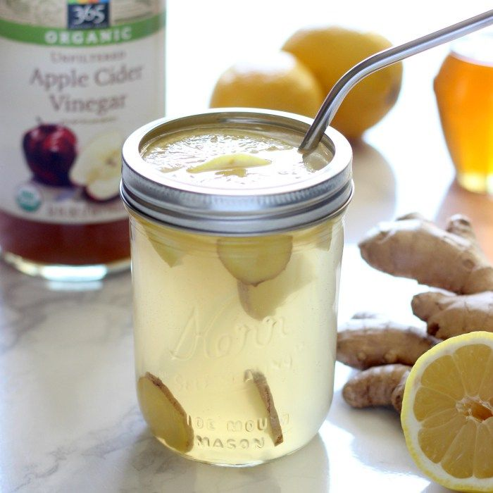 Fight bloating, improve your digestion, and rev your metabolism with this detox ginger lemonade!