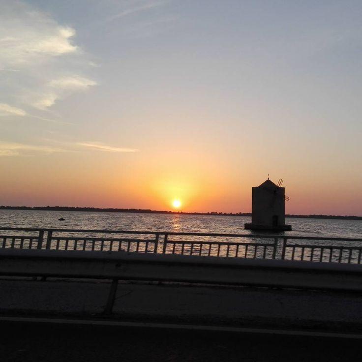 Non esiste tramonto uguale all'altro ... #sunset #summer #igersmaremma #igerstoscana #dafareamonteargentario #endofday #dafareintoscana #orbetello